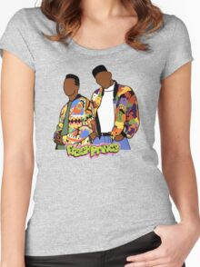 Fresh Prince of Bel-Air  Women's Fitted Scoop T-Shirt