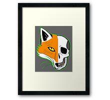 Fox Scull Framed Print