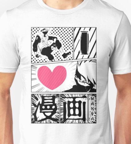 iLoveManga_2 Unisex T-Shirt