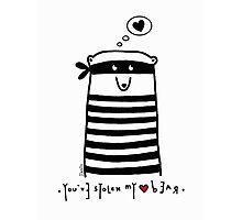 Love Thief Photographic Print
