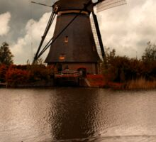 An old windmill Sticker