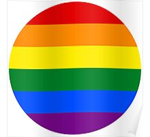 LGBT Equality Rainbow Circle Poster