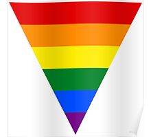 LGBT Equality Rainbow Triangle Poster