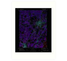 New York NY Saratoga Springs 129388 1967 24000 Inverted Art Print