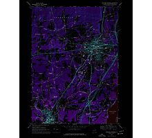 New York NY Saratoga Springs 129388 1967 24000 Inverted Photographic Print