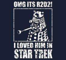 R2-D2 Star Trek Dalek by felicitymuscat
