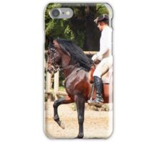 The Portuguese School of Equestrian Art iPhone Case/Skin