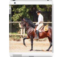 The Portuguese School of Equestrian Art iPad Case/Skin