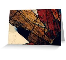 Epidote and Quartz Greeting Card