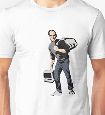 Banksy Steve Jobs Calais refugee Unisex T-Shirt