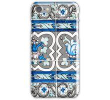 Azulejo - Floral Decoration iPhone Case/Skin