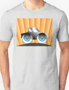 Cartoon Car With Eyes T-Shirt