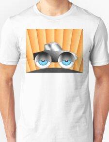 Cartoon Car With Eyes Unisex T-Shirt