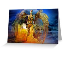 phoenix Greeting Card