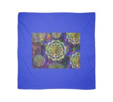 Multi coloured mandalas. Scarf