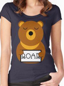 Hear the roar Women's Fitted Scoop T-Shirt