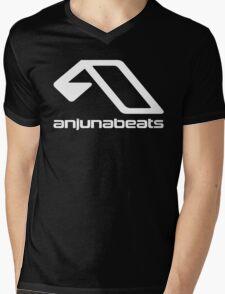 music-Anjunabeats Mens V-Neck T-Shirt