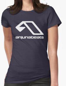 music-Anjunabeats Womens Fitted T-Shirt