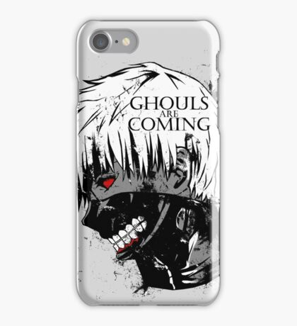 Ghouls are coming iPhone Case/Skin
