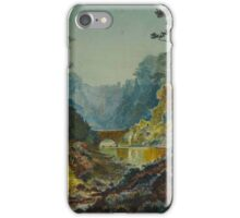 John Atkinson Grimshaw Paintings, The Seven Arches, Adel Woods,  iPhone Case/Skin