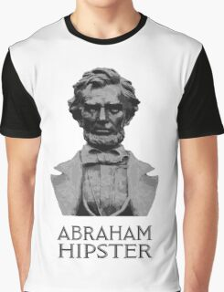 Abraham Hipster Graphic T-Shirt