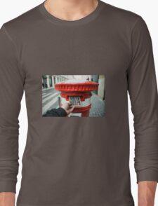post cork  Long Sleeve T-Shirt