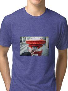 post cork  Tri-blend T-Shirt
