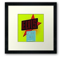 Elvis Motel Framed Print