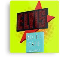 Elvis Motel Metal Print