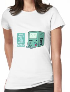 Videogames Womens Fitted T-Shirt