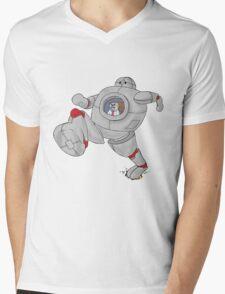 The ROBOT Mens V-Neck T-Shirt