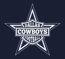 Dallas Cowboys Star One Piece - Long Sleeve