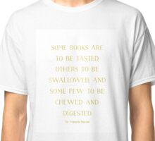 quotes about books Classic T-Shirt