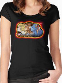 Thundercats Design T-shirt Women's Fitted Scoop T-Shirt