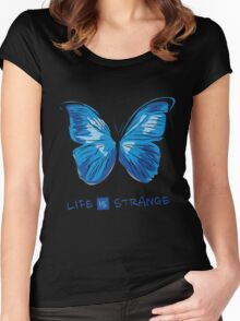 Life is Strange - Butterfly Women's Fitted Scoop T-Shirt