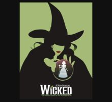Wicked Broadway Musical Wizard Of Oz T-Shirt by willchampion