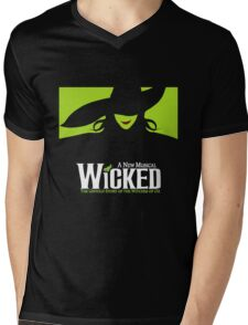 Wicked Broadway Musical - Untold Story about Wizard Of Oz - T-Shirt Mens V-Neck T-Shirt