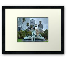 Governor Phillip Fountain Framed Print