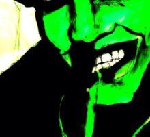 Manson - green  Sticker
