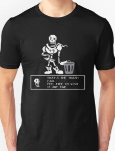 Undertale Papyrus Trash Can T-Shirt T-Shirt