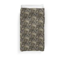 Beware Of Women With Beards - Basque Proverb Duvet Cover