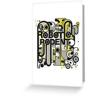 The Robotic Rodent Greeting Card