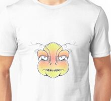 Angry Monster Portrait Drawing Unisex T-Shirt