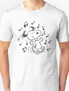 Dancing Snoopy T-Shirt
