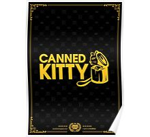 Canned Kitty Awards Black Tee/Poster Poster