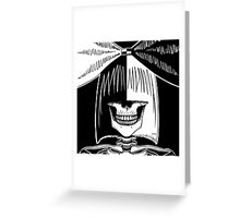 Sia (Stack's Skull Sunday) Greeting Card
