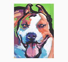 American Staffordshire Terrier Colorful pop art Unisex T-Shirt
