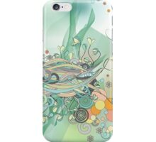 I Heard the sound of summer in the Rain iPhone Case/Skin