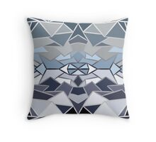 Geometric winter Throw Pillow