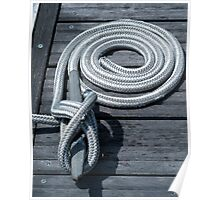 Nautical Rope 2 Poster